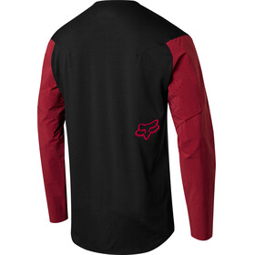 Fox Attack Pro Long Sleeve Jersey Men red/black